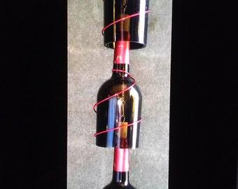 3 Tier Wine Bottle Windchime