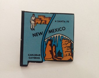 New Mexico Pin