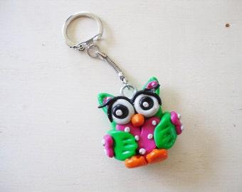 OWL Keychain / key-OWL