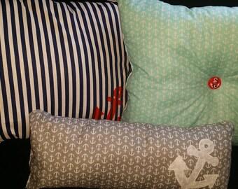 throw pillows anchors set of 3