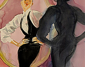 """Theadora Van Runkle - """"The Shadow Looking In The Mirror"""" - Archival Fine Art Cards"""