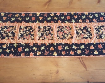 Autumn Leaves Quilted Tablerunner