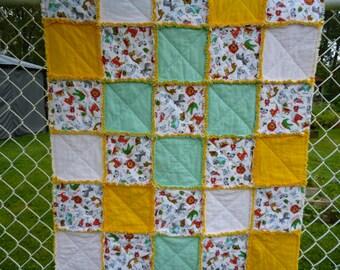 RAG blanket for baby