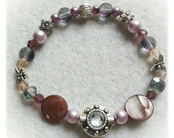 Purple Passion Elastic Bracelet