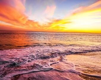 Sunset- Fiery Sunset