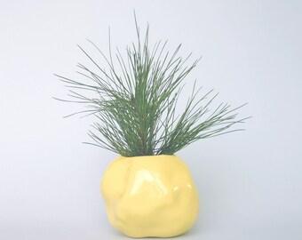 pallone gonfiato | round vase, ceramic
