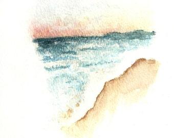 Sunset Shoreline