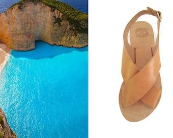 Leather sandals, Greek sandals, Ancient Greek sandals, Womens sandals, Greek leather sandals, Summer sandals, Persefoni
