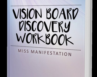 vision board discovery workbook - Vision Board Party Invitation