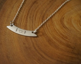 Initial Love Initial necklace