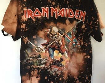 Iron Maiden Ripped/Bleached