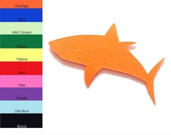 25 Pack - Paper Shark Shape, Shark Die Cut, Shark Cut Outs, Sea Animal Shapes, Paper Animal Shapes