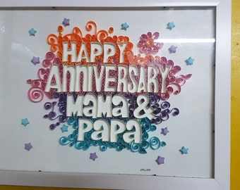 Personalize Paper Quilling