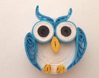 OWL magnet fridge-owl magnet
