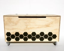 Six to a Side Toy Box