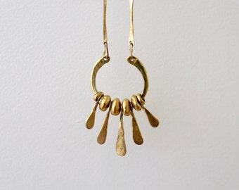 bronze necklace - IXCHEL