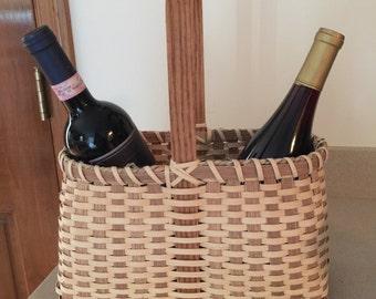 Hand Made wine basket