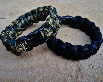 Paracord Bracelet - Cobra braid