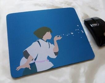 Haku from Spirited Away Studio Ghibli Minimalist Mousepad