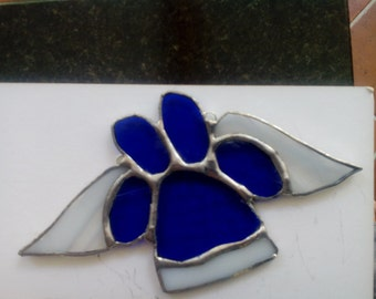 Pet Paw Print Suncatcher - made to order