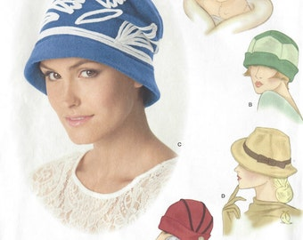 1920s & 1930s Vintage Sewing Pattern HAT S21-22-23 ins (1137R)   Simplicity 1736