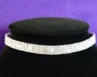 Rihnestone Choker Necklace
