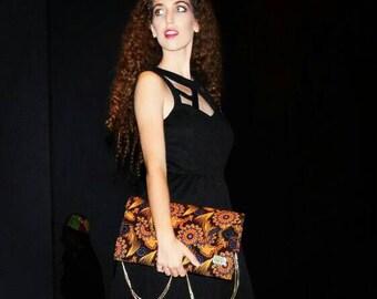 Ankara handbag // gift for her// Envelope handbag