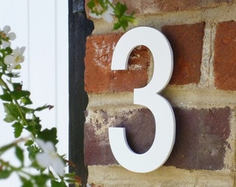 White House Numbers, Unique House Number, Helvetica House Number, Individual House Number, Contemporary House Number, Modern House Number