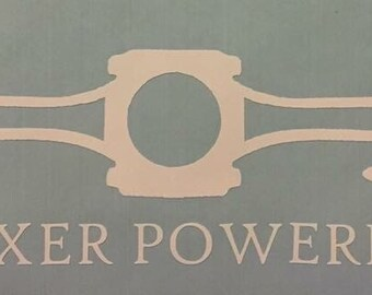 Boxer power Piston decal