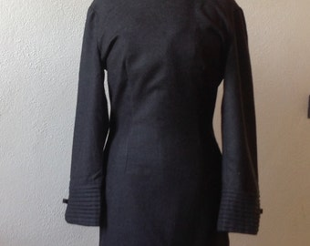 Salt!! Was 55.  Vintage wool tailoring. Vintage dress. Wooled dress