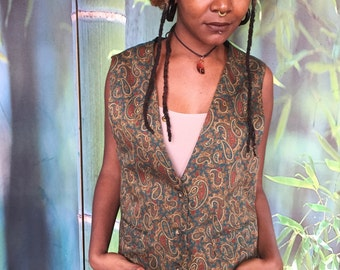Earth toned vest