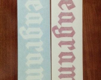 Seagrams's - Vinyl Sticker