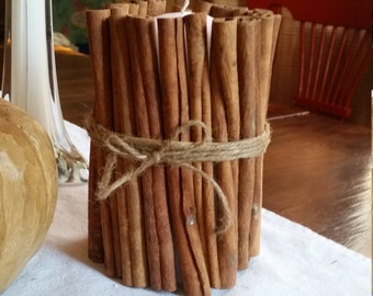 Tall Cinnamon stick candle