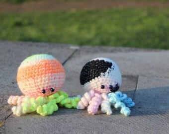 Little octopuses.Amigurumi octopus crochet, Octopus stuffed animal doll, Kawaii crochet plush octopus, Stuffed octopus