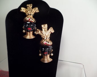 Distinguished Black-a-Moors Scatter Pin Set-1950's
