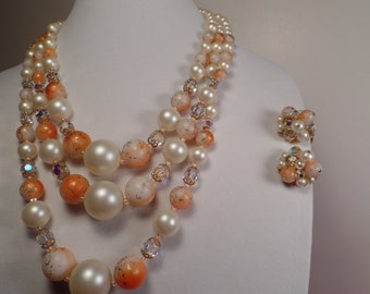 REDUCED Fabulous 1950's-1960's Bead Set