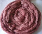 Merino Wool Roving - Comb Top -  Spinning or Felting - Sunrise  8 oz