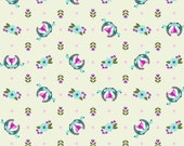 Tula Pink Slow and Steady Winner's Circle in Blue Raspberry Free Spirit cotton quilt fabric - fat quarter
