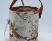 Robin and Butterfly Bucket