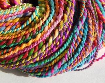 Candyman-Handspun Wool Yarn