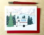 Holiday Camper Card - Available in singles or boxes
