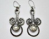Avon Rare 1974 Swirlcraft Pierced Earrings