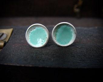 tiny tide pool earrings