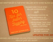 Etsy SEO- Ten Tips For Better Tagging On Etsy- Seller Guide- Etsy Tagging Help- Etsy How To Tag on Etsy Help- Etsy Success- Instant Download