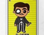 Loteria El Catrin Print
