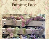 Issue #4 of Crazy Quilt Digest Lace painting