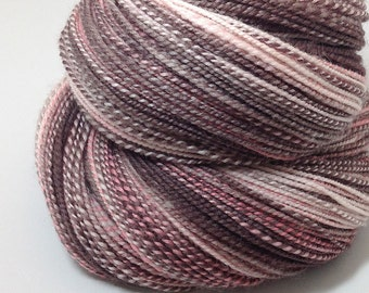 Handspun Yarn - Neapolitan - 345 Yards