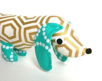 Wiener Dog Softie for Kids Toy Stuffed Animal JADE