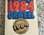 1984 George Orwell Book Commemorative Edition sci fi
