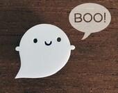 Little Ghost Kawaii Acrylic Brooch